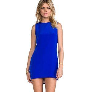 NAVEN Revolve Blue Twiggy Sleeveless Mini Dress